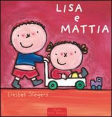 Lisa e Mattia - Liesbet Slegers - copertina