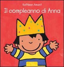 Il compleanno di Anna - Kathleen Amant - copertina