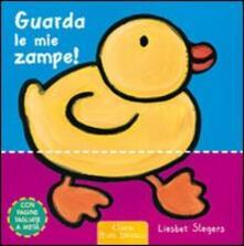 Guarda le mie zampe! - Liesbet Slegers - copertina