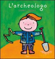 L' archeologo - Liesbet Slegers - copertina