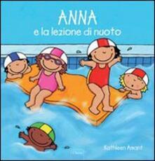 Anna e la lezione di nuoto - Kathleen Amant - copertina
