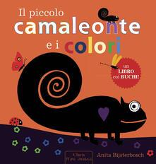 Il piccolo camaleonte e i colori - Anita Bijsterbosch - copertina