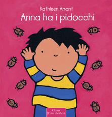 Anna ha i pidocchi - Kathleen Amant - copertina