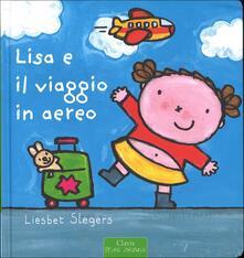 Lisa e il viaggio in aereo - Liesbet Slegers - copertina