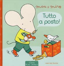 Tutto a posto! Max & Miro - Leen Van Durme - copertina
