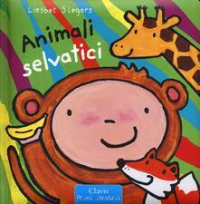 Animali selvatici. Ediz. a colori - Liesbet Slegers - copertina