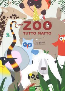 Uno zoo tutto matto. Ediz. a colori - Pimm Van Hest,Kerstin Zebransky - copertina