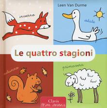 Le quattro stagioni. Ediz. a colori - Leen Van Durme - copertina