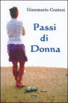 Passi di donna - Gianmario Contesi - copertina