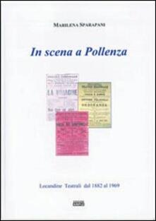 In scena a Pollenza - Marilena Sparapani - copertina