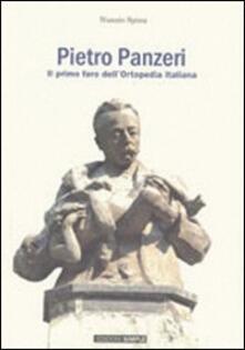 Pietro Panzeri il primo faro dell'ortopedia italiana - Nunzio Spina - copertina