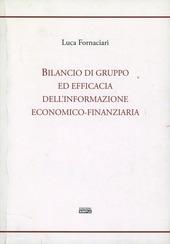 Bilancio di gruppo ed efficacia dell'informazione economico-finanziaria