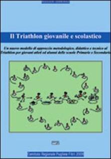 Il triathlon giovanile e scolastico - Domenico Ruggieri - copertina