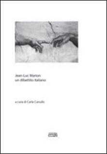 Premioquesti.it Jean-Luc Marion un dibattito italiano Image