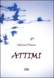 Attimi - Fabrizio Pistone - copertina