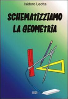 Schematizziamo la geometria - Isidoro Leotta - copertina