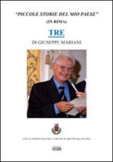 Piccole storie del mio paese (in rima) 3 - Giuseppe Mariani - copertina