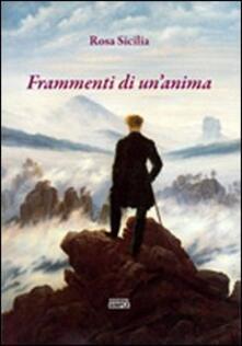 Frammenti di un'anima - Rosa Sicilia - copertina