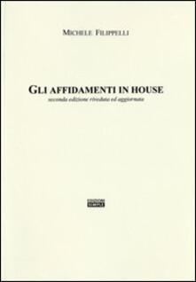 Gli affidamenti in house - Michele Filippelli - copertina