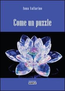 Come un puzzle - Anna Vallarino - copertina