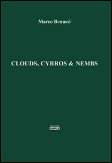 Clouds, cyrros & nembs - Marco Benussi - copertina