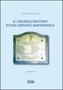 Il crudele destino d'una giovane matematica - Giosuè Giovannino - copertina