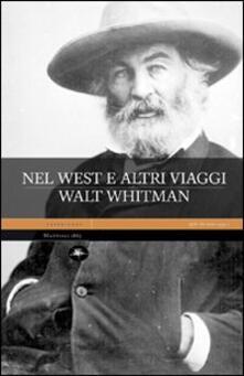 Nel west e altri viaggi - Walt Whitman - copertina
