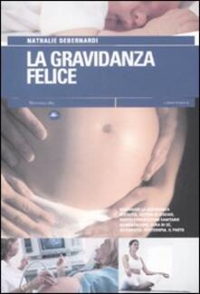 La gravidanza felice - Nathalie Debernardi - copertina