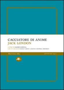 Cacciatore di anime - Jack London - copertina