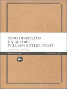 Sono diventato un autore - William Butler Yeats - copertina