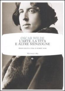 L' arte, la vita e altre menzogne - Oscar Wilde - copertina