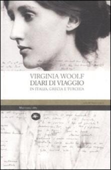 Diari di viaggio in Italia, Grecia e Turchia - Virginia Woolf - copertina