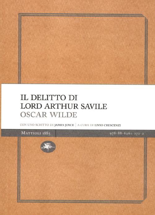 Il delitto di lord Arthur S...