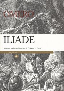 Iliade. Con note storico-mediche - Omero - copertina