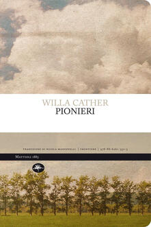 Pionieri - Willa Cather - copertina