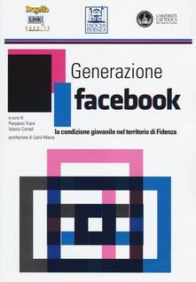 Generazione facebook. La condizione giovanile nel territorio di Fidenza - copertina