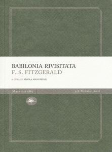 Babilonia rivisitata - Francis Scott Fitzgerald - copertina