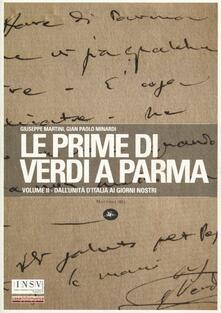 Winniearcher.com Le prime di Verdi a Parma. Vol. 2: Dall'Unità d'Italia ai giorni nostri. Image