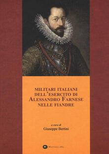 Militari italiani dell'esercito di Alessandro Farnese nelle Fiandre - copertina