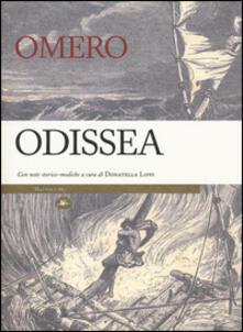 Odissea. Con note storico-mediche - Omero - copertina
