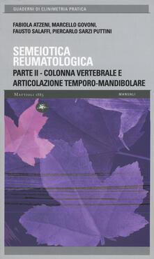 Promoartpalermo.it Semeiotica reumatologica. Parte seconda. Colonna vertebrale e articolazione temporo-mandibolare Image