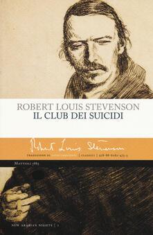 Il club dei suicidi - Robert Louis Stevenson - copertina