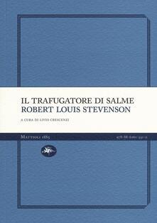 trafugatore - Robert Louis Stevenson - copertina