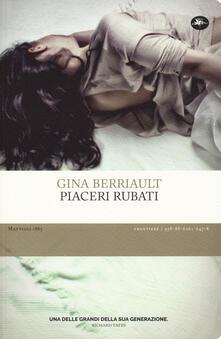 Piaceri rubati - Gina Berriault - copertina