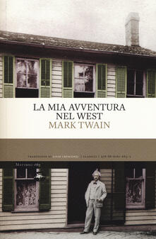 La mia avventura nel West - Mark Twain - copertina