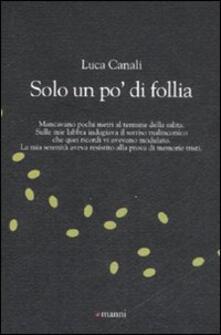 Solo un po' di follia - Luca Canali - copertina