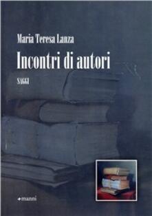 Incontri di autori - M. Teresa Lanza - copertina