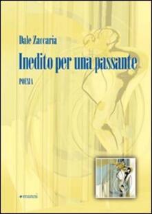 Inedito per una passante - Dale Zaccaria - copertina