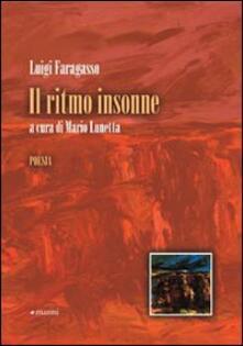 Il ritmo insonne - Luigi Faragasso - copertina