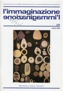 L' immaginazione. Vol. 245 - copertina